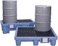 Hydra-Lift Chemical Drum Storage Rollers