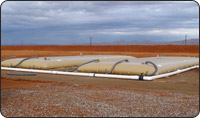 50,000 gallon pillow tanks